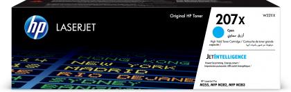 Originální toner HP 207X, HP W2211X (Azurový)