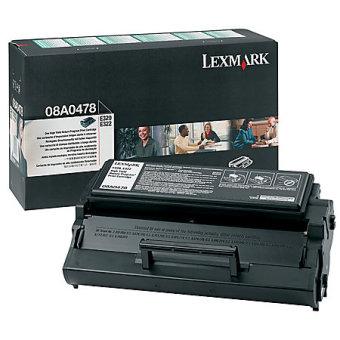 Originální toner Lexmark 8A0478 (Černý)