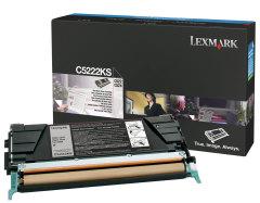 Toner do tiskárny Originální toner Lexmark C5222KS (Černý)