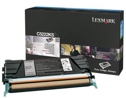 Originální toner Lexmark C5222KS (Černý)