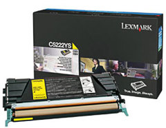Toner do tiskárny Originální toner Lexmark C5222YS (Žlutý)