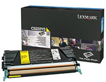 Originální toner Lexmark C5222YS (Žlutý)