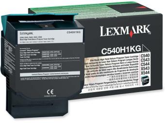 Originální toner Lexmark C540H1KG (Černý)