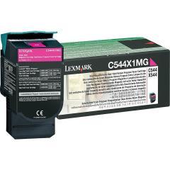 Toner do tiskárny Originální toner Lexmark C544X1MG (Purpurový)