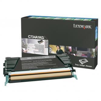 Originální toner Lexmark C734A1KG (Černý)
