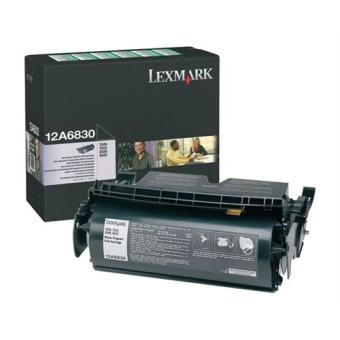 Originální toner Lexmark 12A6830 (Černý)