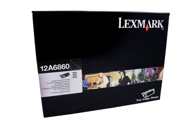Originální toner Lexmark 12A6860 (Černý)