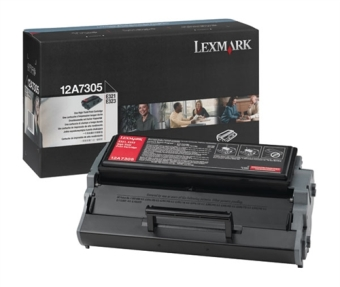 Originální toner Lexmark 12A7305 (Černý)