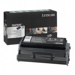 Toner do tiskárny Originální toner Lexmark 12A7400 (Černý)