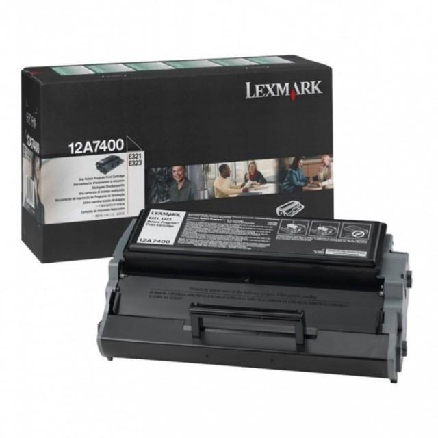 Originální toner Lexmark 12A7400 (Černý)
