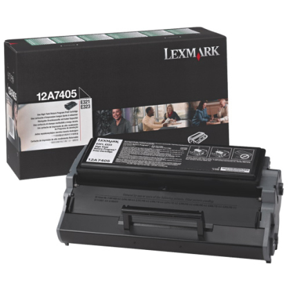 Originální toner Lexmark 12A7405 (Černý)