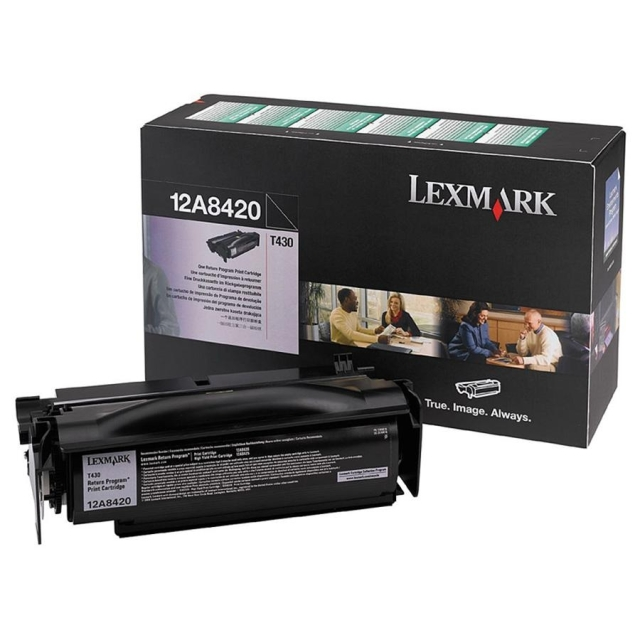 Originální toner Lexmark 12A8420 (Černý)
