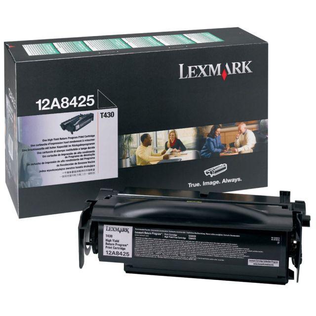 Originální toner Lexmark 12A8425 (Černý)