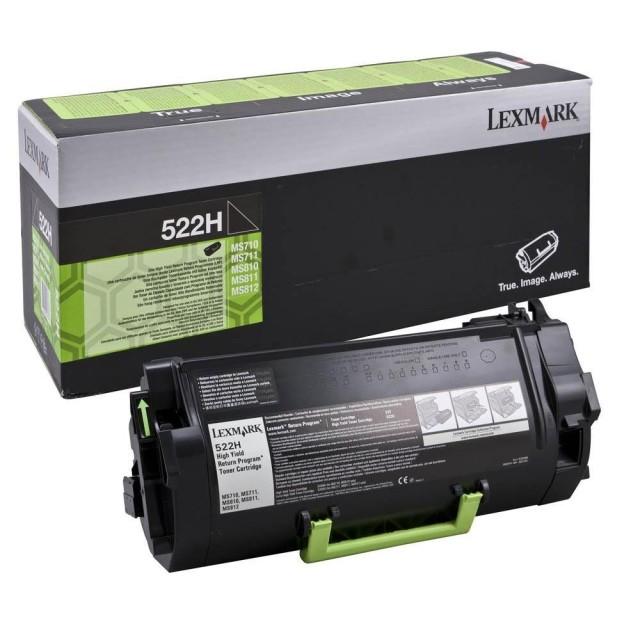 Originální toner Lexmark 52D2H00 (Černý)