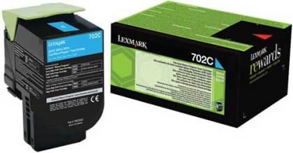 Originální toner Lexmark 70C20C0 (Azurový)