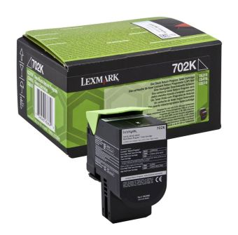 Originální toner Lexmark 70C20K0 (Černý)