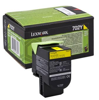 Originální toner Lexmark 70C20Y0 (Žlutý)