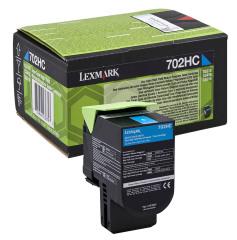 Toner do tiskárny Originální toner Lexmark 70C2HC0 (Azurový)