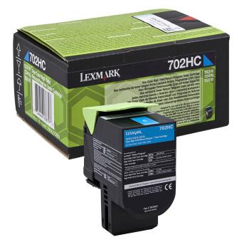 Originální toner Lexmark 70C2HC0 (Azurový)