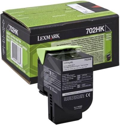 Originální toner Lexmark 70C2HK0 (Černý)