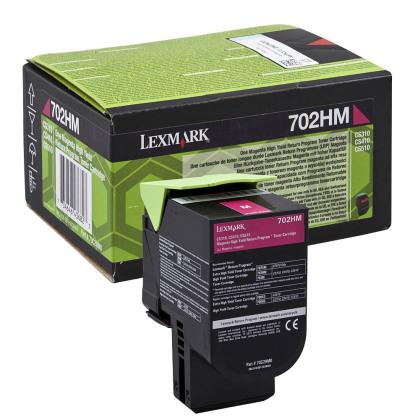 Originální toner Lexmark 70C2HM0 (Purpurový)
