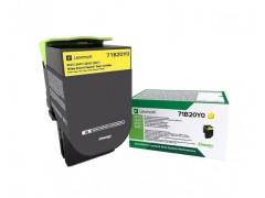 Toner do tiskárny Originální toner Lexmark 71B20Y0 (Žlutý)