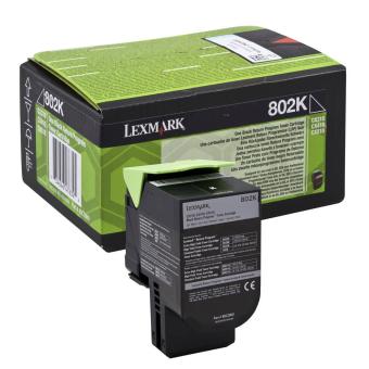 Originální toner Lexmark 80C20K0 (Černý)