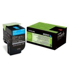 Toner do tiskárny Originální toner Lexmark 80C2HC0 (Azurový)