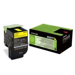 Toner do tiskárny Originální toner Lexmark 80C2HY0 (Žlutý)