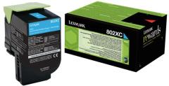 Toner do tiskárny Originální toner Lexmark 80C2XC0 (Azurový)