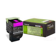 Toner do tiskárny Originální toner Lexmark 80C2XM0 (Purpurový)