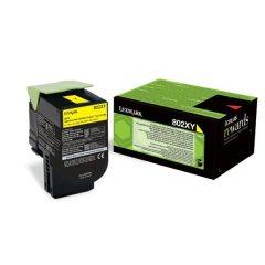 Toner do tiskárny Originální toner Lexmark 80C2XY0 (Žlutý)