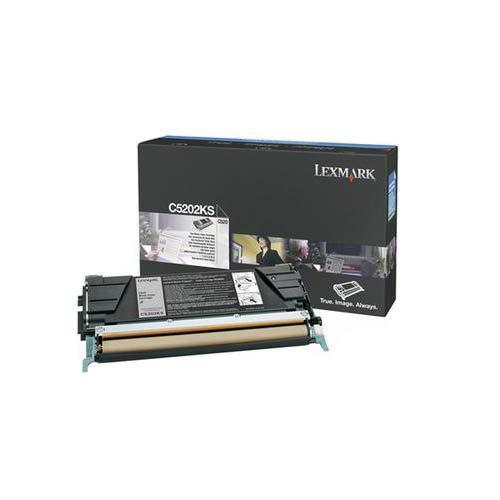 Originální toner Lexmark C5202KS (Černý)