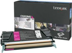 Toner do tiskárny Originální toner Lexmark C5202MS (Purpurový)
