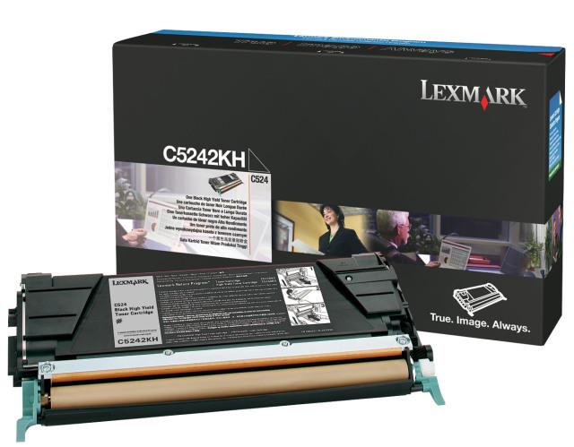 Originální toner Lexmark C5242KH (Černý)