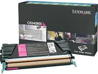 Originální toner Lexmark C5340MX (Purpurový)