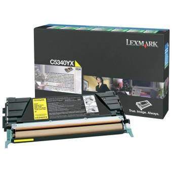 Originální toner Lexmark C5340YX (Žlutý)