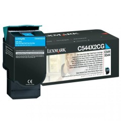 Toner do tiskárny Originální toner Lexmark C544X2CG (Azurový)