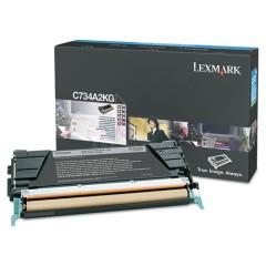 Toner do tiskárny Originální toner Lexmark C734A2KG (Černý)