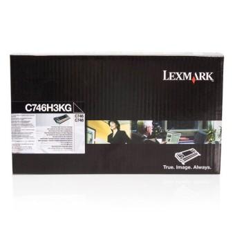 Originální toner Lexmark C746H3KG (Černý)