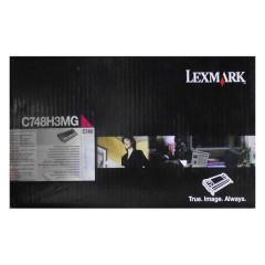 Toner do tiskárny Originální toner Lexmark C748H3MG (Purpurový)