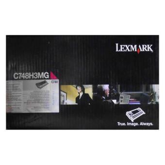 Originální toner Lexmark C748H3MG (Purpurový)