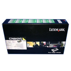 Toner do tiskárny Originální toner Lexmark C748H3YG (Žlutý)