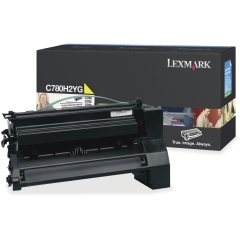 Toner do tiskárny Originální toner Lexmark C780H2YG (Žlutý)