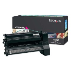 Toner do tiskárny Originální toner Lexmark C782X1MG (Purpurový)