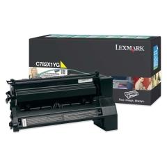 Toner do tiskárny Originální toner Lexmark C782X1YG (Žlutý)