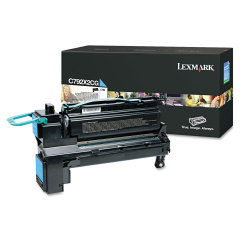 Toner do tiskárny Originální toner Lexmark C792X2CG (Azurový)