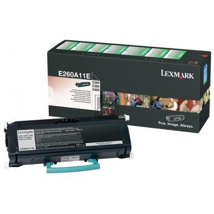 Originální toner Lexmark E260A11E (Černý)