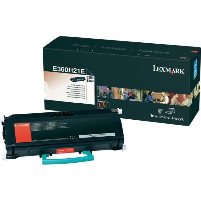 Originální toner Lexmark E360H21E (Černý)