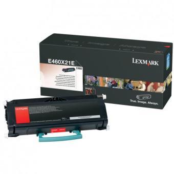 Originální toner Lexmark E460X21E (Černý)